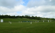 Chilmark's beautiful cricket field