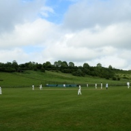 Chilmark's beautiful cricket field